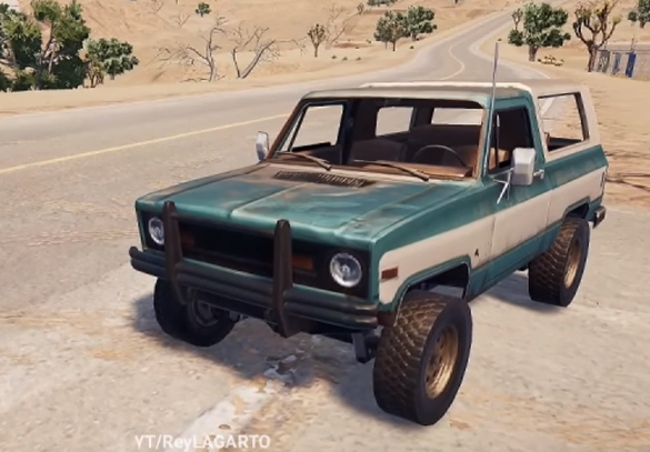 New Vehicles for PUBG mobile Update 0.4.0