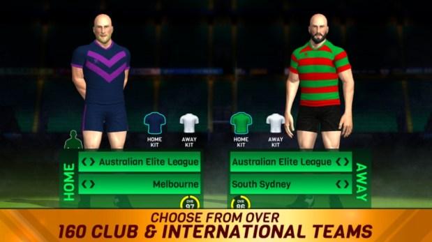 Rugby League 18 Mod apk hack