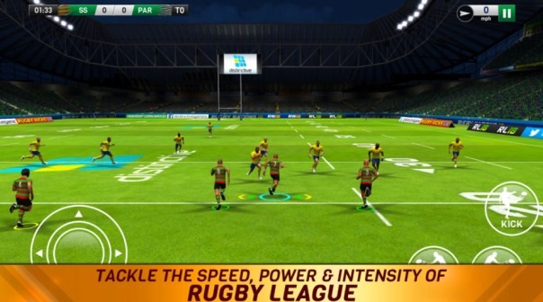 Rugby League 18 Android game cheats