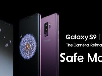 Galaxy S9 Safe Mode