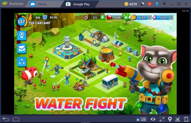 Talking Tom Camp for PC windows 10