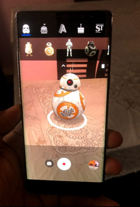 AR Stickers for Note 8