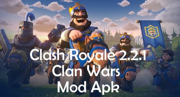 Clash Royale 2.2.1 Mod apk hack