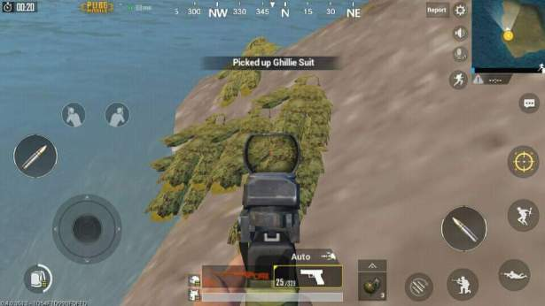 Where to find Ghillie Suit in PUBG Mobile