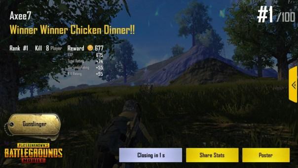 South America PUBG Mobile Server easy Chicken Dinner