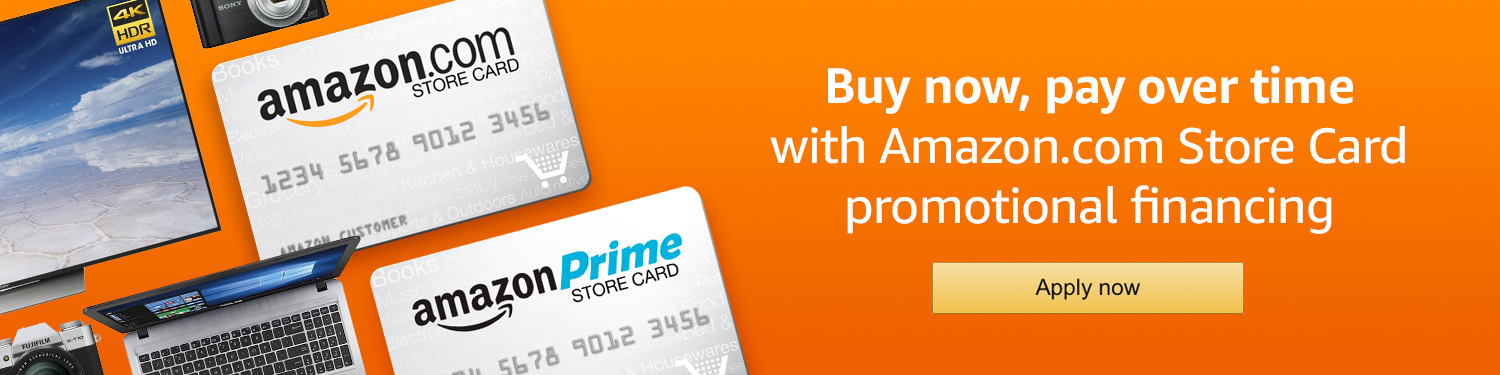 does amazon prime store card build credit