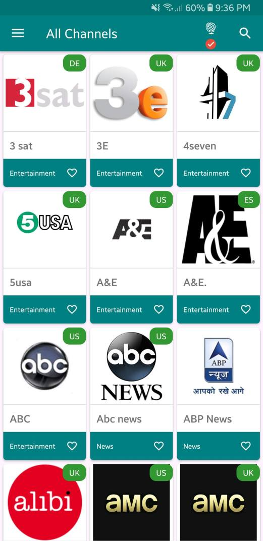 TV Tap Channels List Downloads