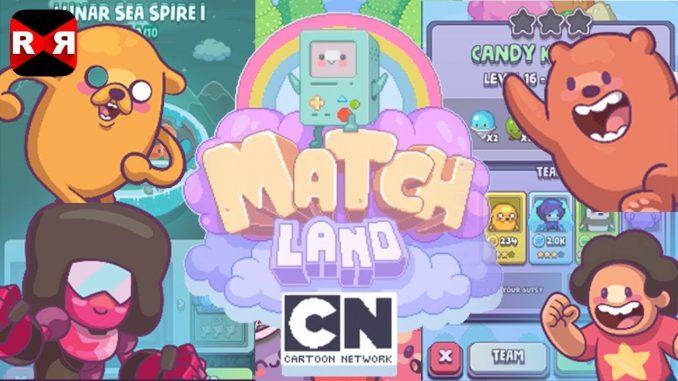 Cartoon Network Match Land for PC