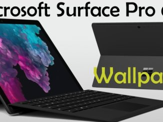 Microsoft Surface Pro 6 Stock Wallpapers