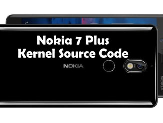 Nokia 7 Plus Kernel Source Code