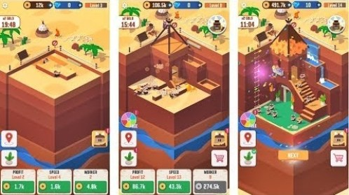 Idle Digging Tycoon Mod Apk