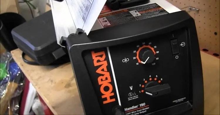 Hobart Handler 190 Mig Welder Review
