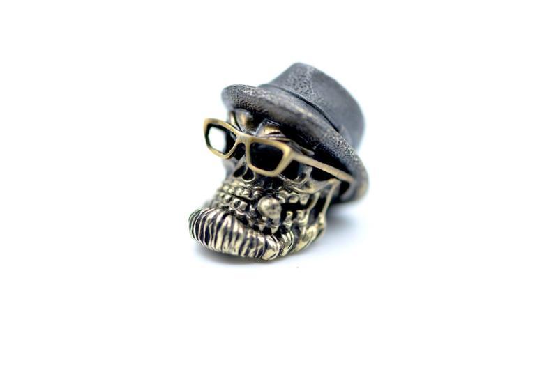 Zaiser Bead Gudy Skull