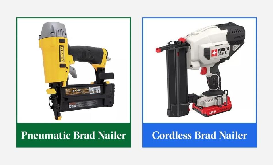 types of brad nailer
