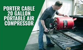 Porter Cable 20 Gallon Portable Air Compressor