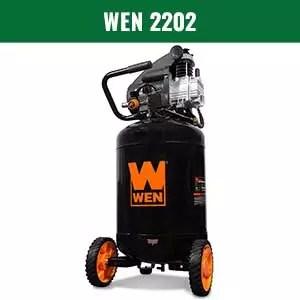 WEN 2202 Portable Vertical Air Compressor