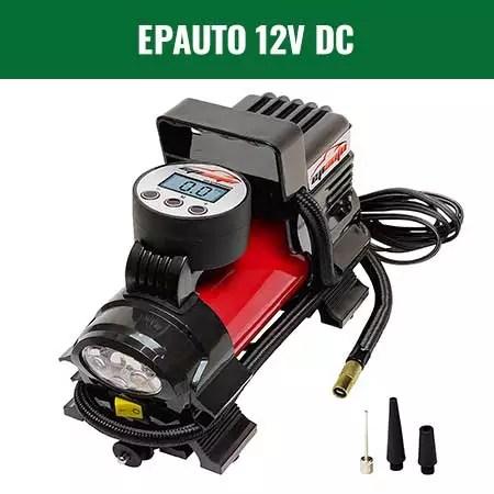 EPAUTO 12V DC Portable Air Compressor