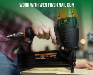 work with finish nailer
