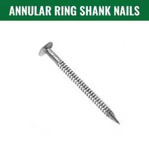 annular ring shank nails