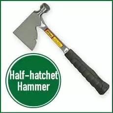 half hatchet hammer