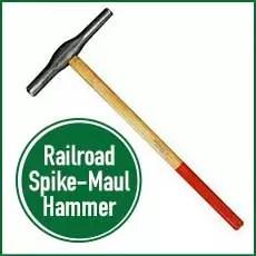 railroad spike maul hammer