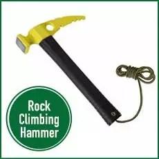 rock climbing hammer