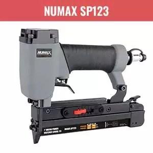 NuMax SP123 Pneumatic 23-Gauge Pin Nailer