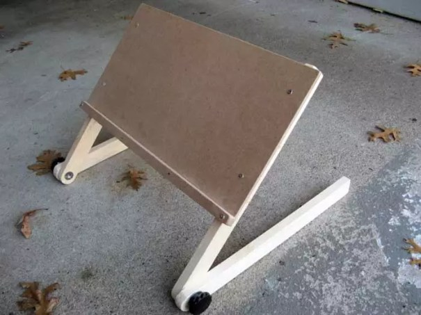 Laid Back Bed Stand