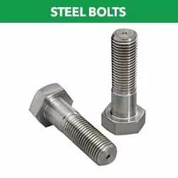 Steel bolts