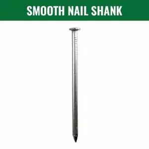 smooth nail shank