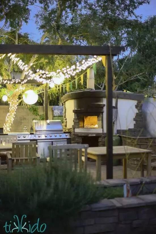 Backyard Wood Fired Pizza Oven