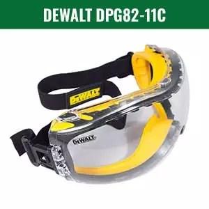 DEWALT DPG82-11C Safety Goggle