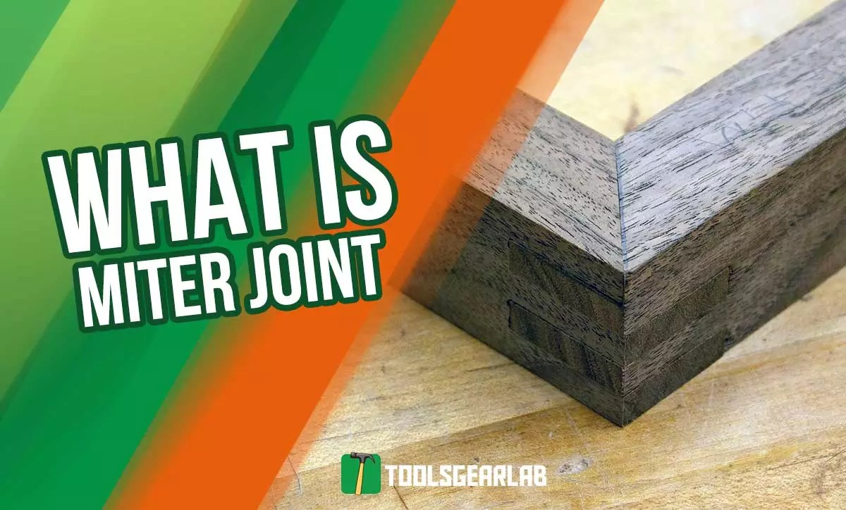 what is a miter joint