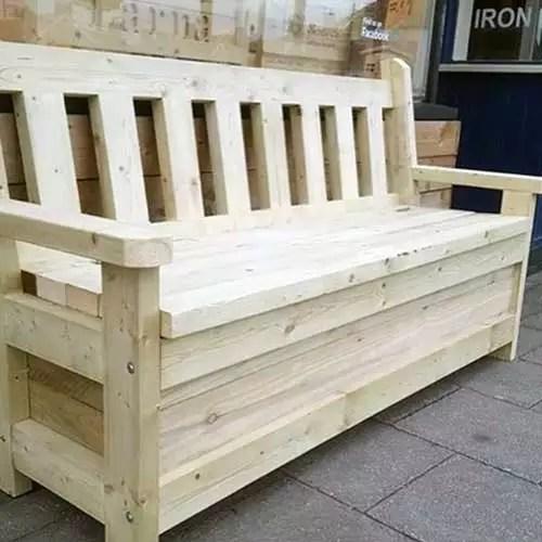 Get A Garden Storage Bench