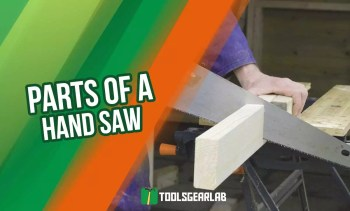 Parts Of A Hand Saw