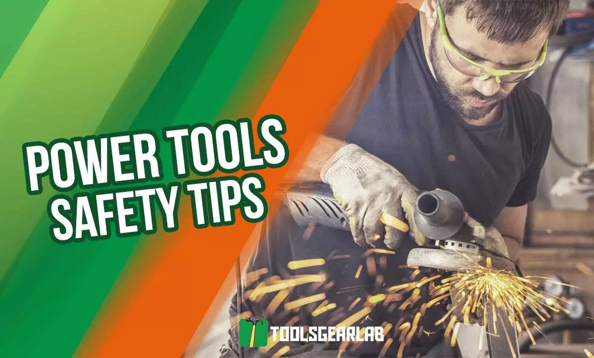 power tools safety tips