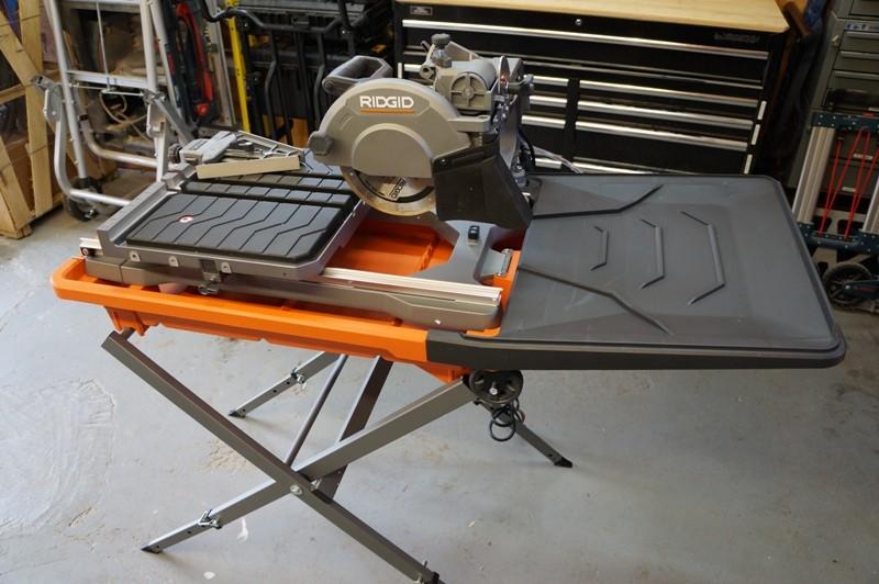 ridgid 8 tile saw review model r4040s