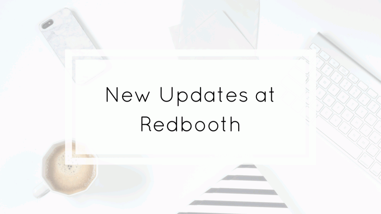 new update at Redbooth