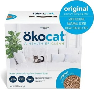 ökocat Natural Wood Clumping Cat Litter