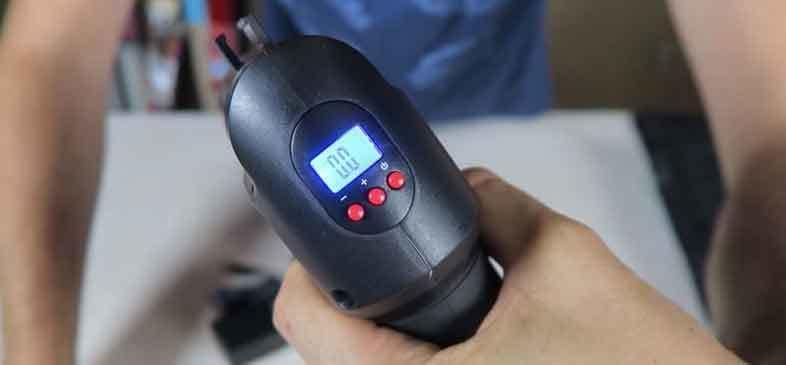 Air Hawk Pro  Digital gauge with LED