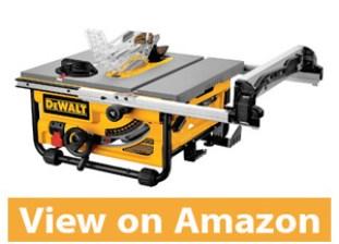 DEWALT DW745 10-Inch Compact Job-Site Table Saw