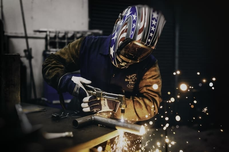 gas tungsten arc welding