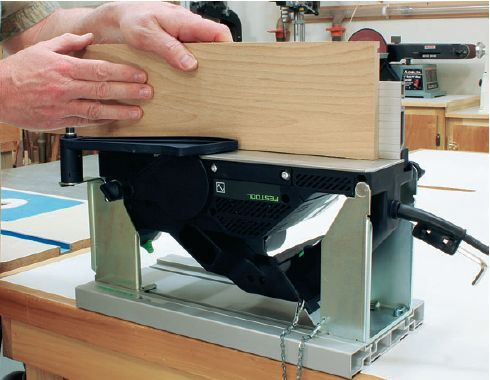 Jointer in Woodworking