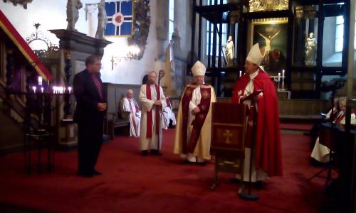 EELK Teeneteristi I järgu üleandmine piiskop Tamas Fabinyle