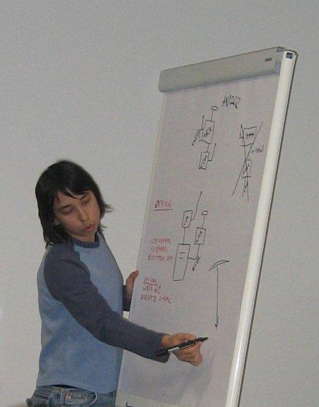 Magdalina seletab skeemi