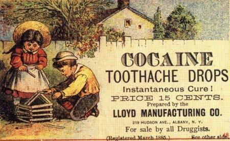 Kokaiinireklaam