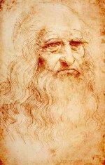Leonardo da Vinci autoportree
