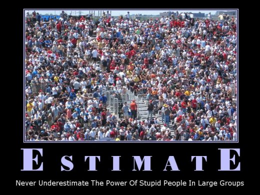 Demotivational: estimate