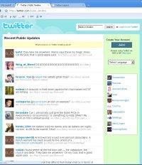 Twitteri sisu