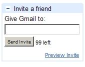 Gmail kutse saatmine